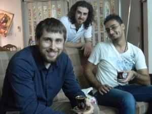 Me, Hayder, Ali